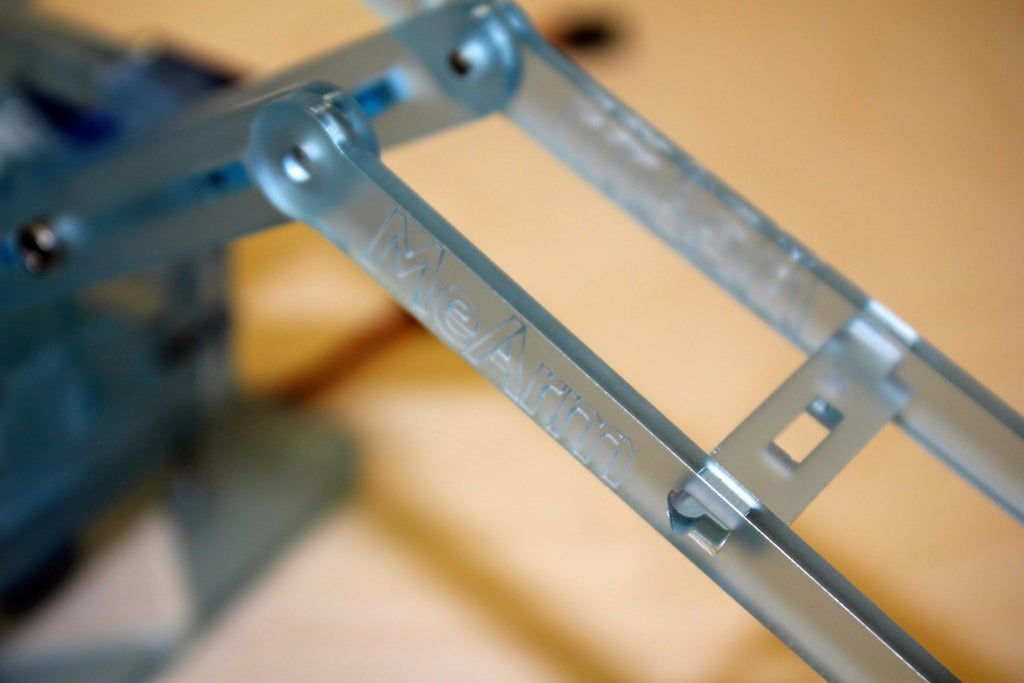 MeArm机械臂安装教程